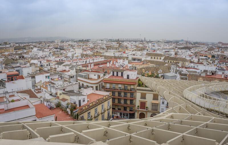 Andalusien Sevilla Las Setas Spanien