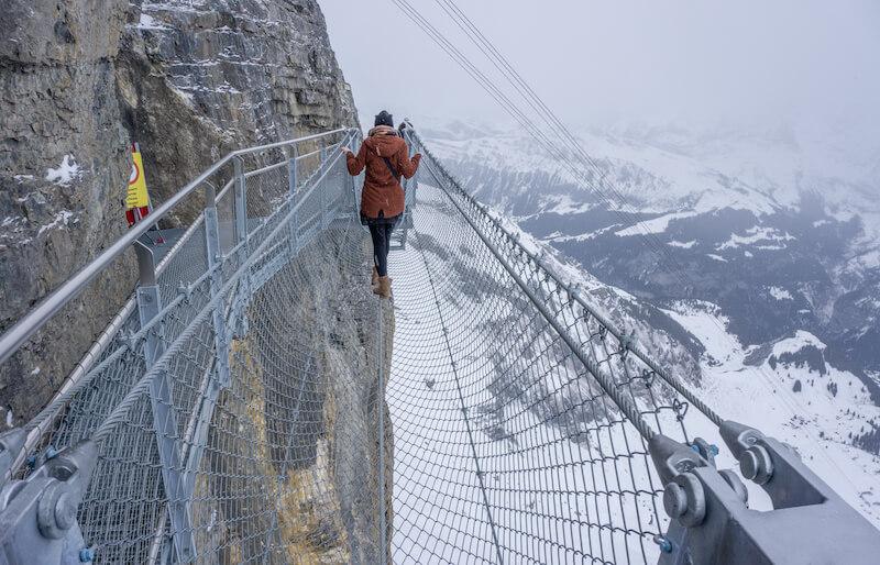Interlaken Birg Schilthorn Thrill Walk