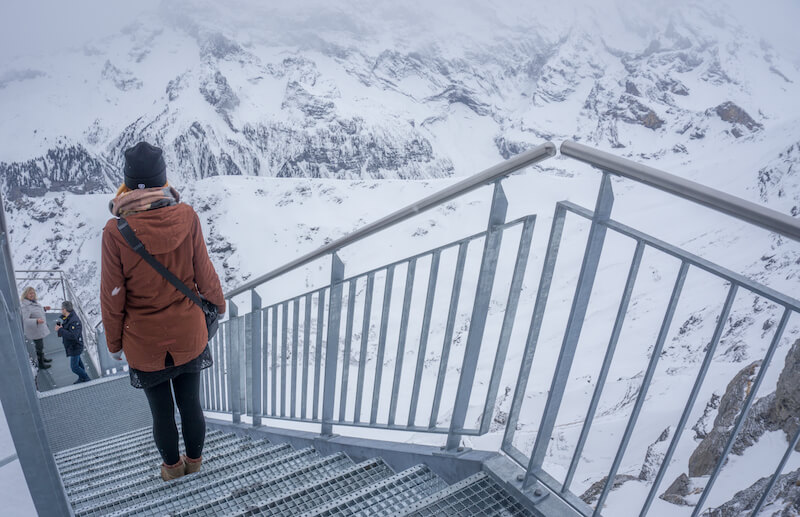 Interlaken Birg Schilthorn Thrill Walk