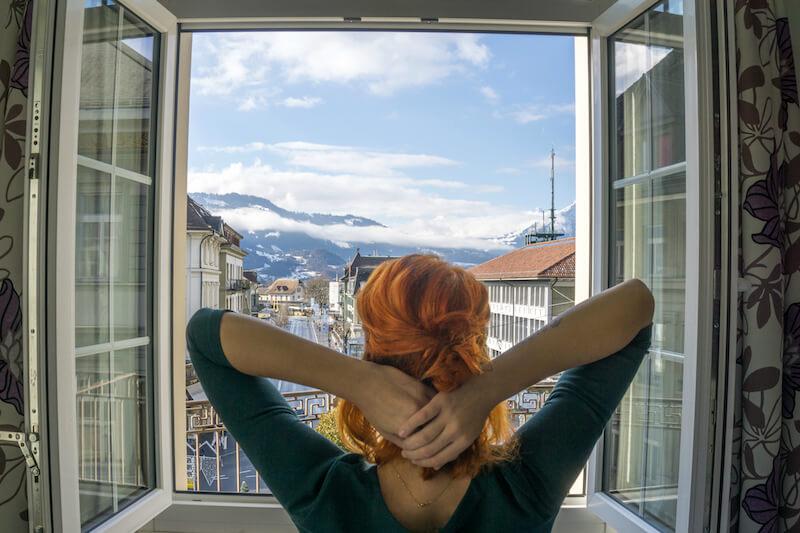 Interlaken Schweiz Hotel Oberland Alpen