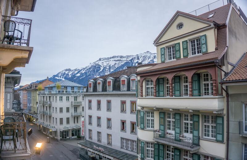 Interlaken Schweiz Top of Europe
