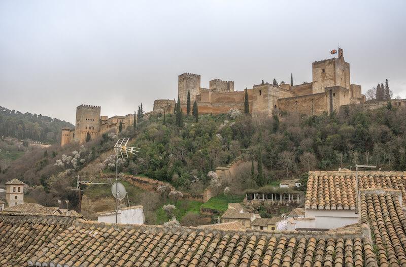 Andalusien Roadtrip Granada Alhambra