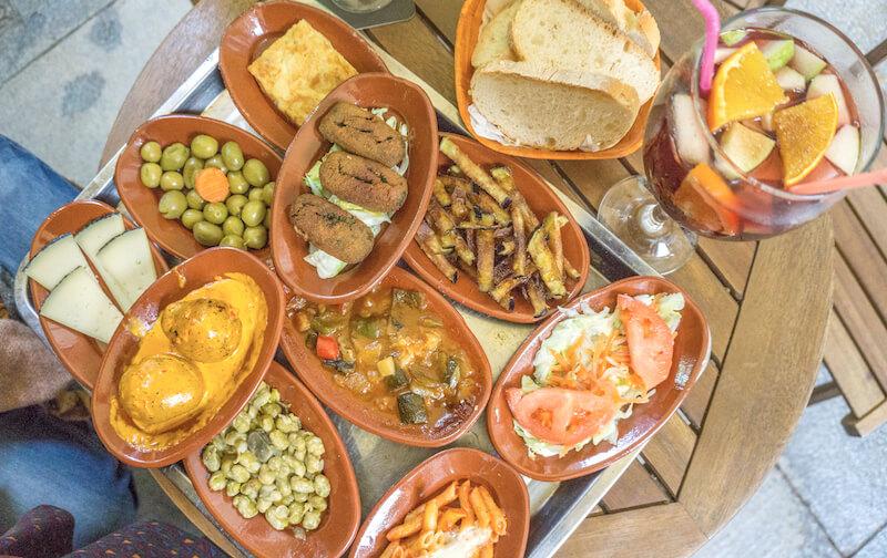 Andalusien Roadtrip Granada Tapas