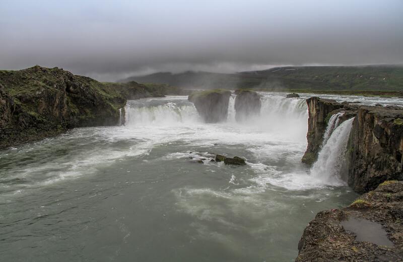 Island Roadtrip Godafoss Wasserfall