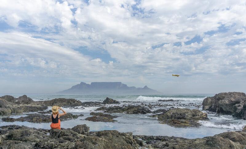 Kapstadt Sehenswuerdigkeiten Blouberg Strand