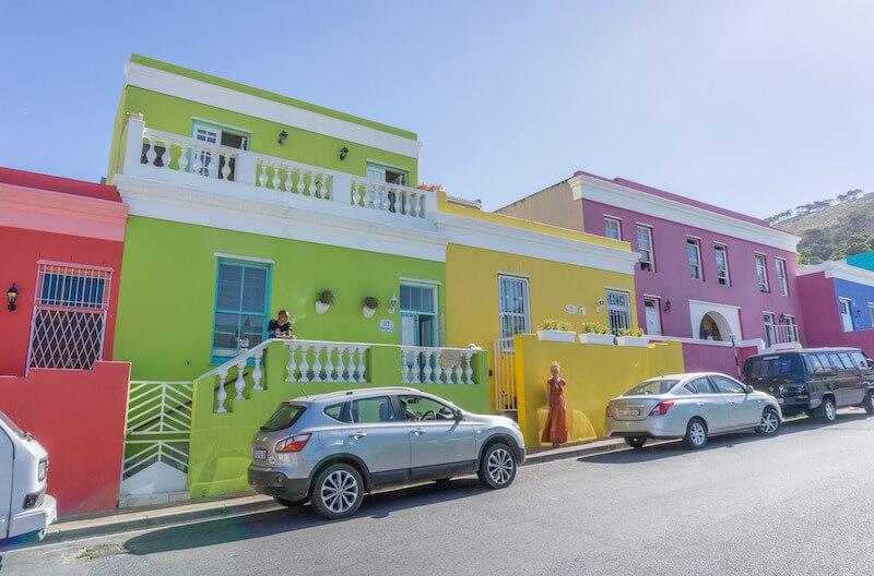 Kapstadt Sehenswuerdigkeiten Bo Kaap