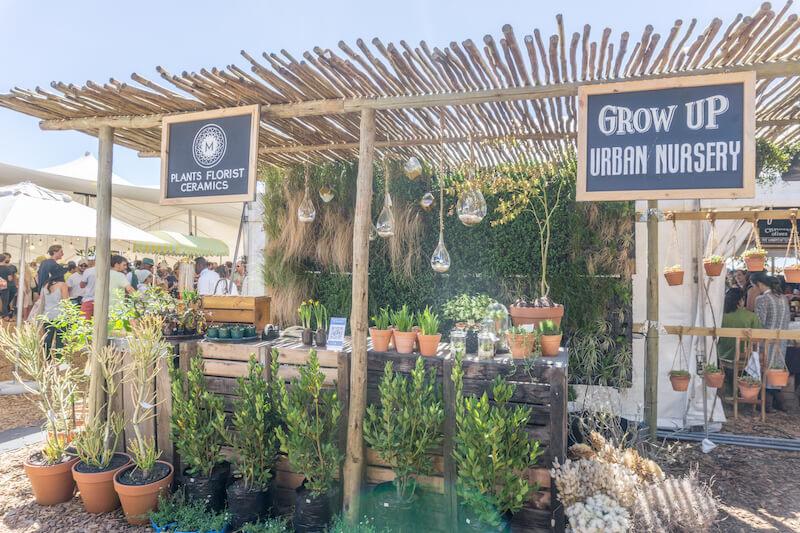Kapstadt Sehenswuerdigkeiten Oranjezicht City Farm Market
