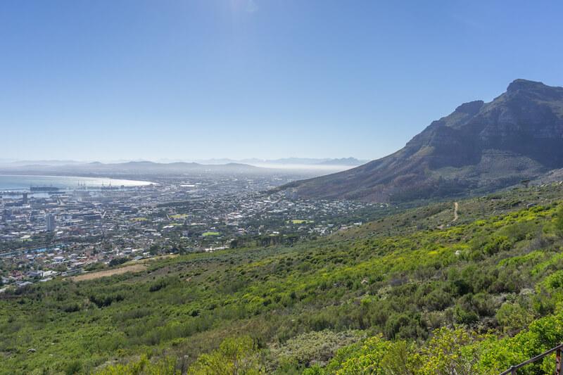 Kapstadt Sehenswuerdigkeiten Tafelberg