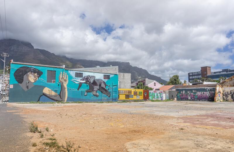 Kapstadt Sehenswuerdigkeiten Woodstock Albert Road