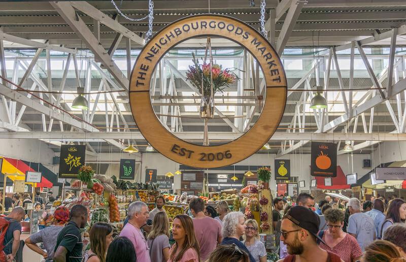Kapstadt Sehenswuerdigkeiten Woodstock Neighbourgoods Market