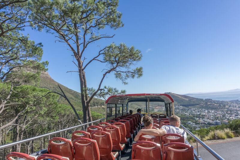 Kapstadt Urlaub Sightseeing Bus Tafelberg