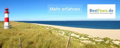 Ostsee Urlaub mit BestFewo