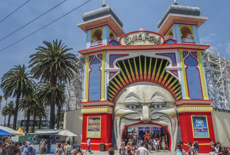 Australien Ostkueste Roadtrip Melbourne St Kilda