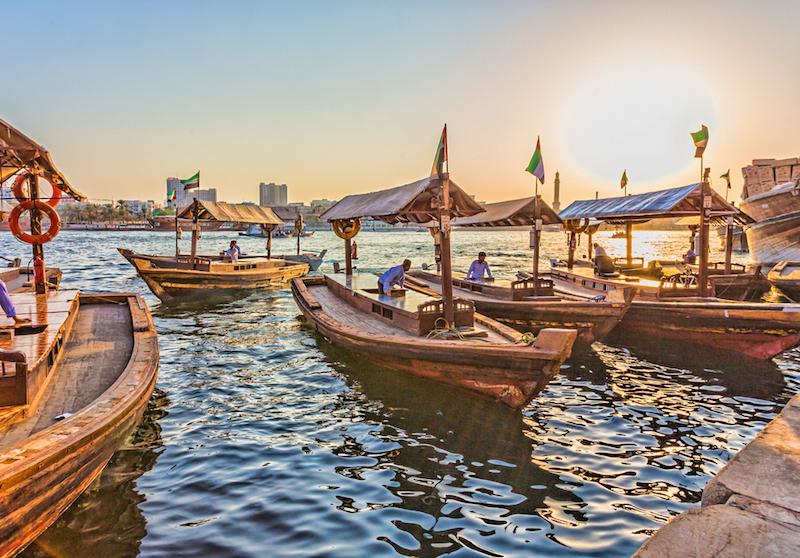 Dubai Creek Altstadt Dubai