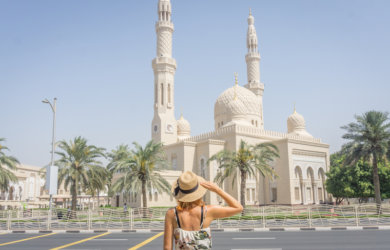Dubai Sightseeing Jumeirah Mosque