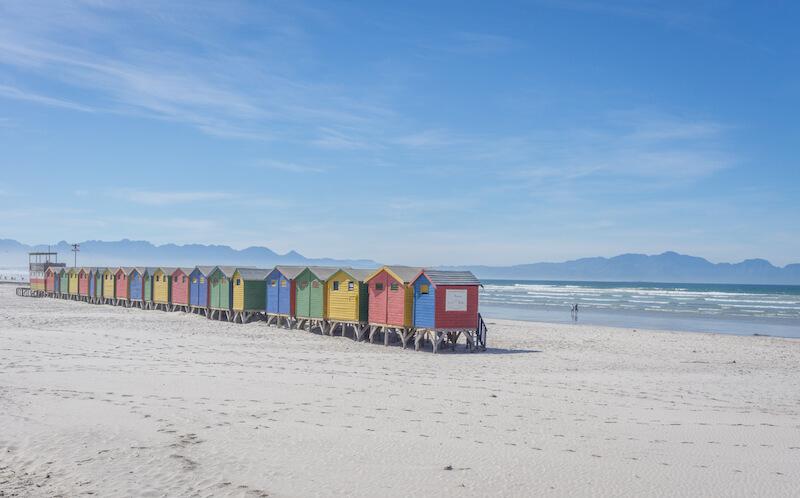Kap Halbinsel Muizenberg Kapstadt