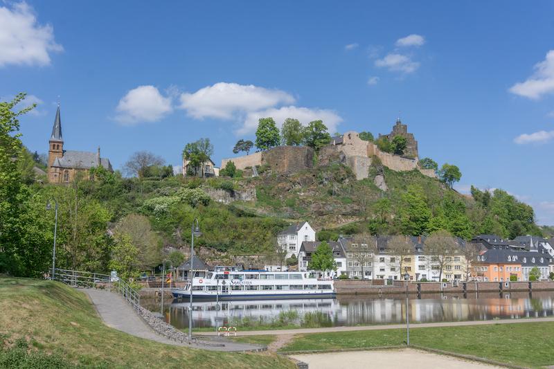 Saarschleife Saarland Saarburg