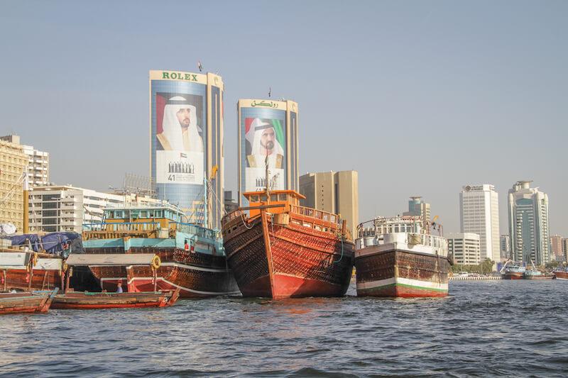 Dubai Sehenswuerdigkeiten Dubai Creek