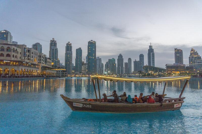 Dubai Sightseeing Fontaenen