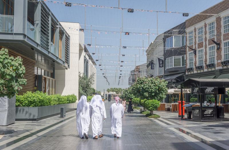 Dubai Walk JBR Promenade