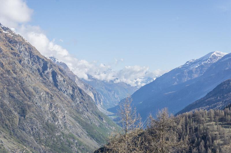 Glacier Express Chur Zermatt Alpen