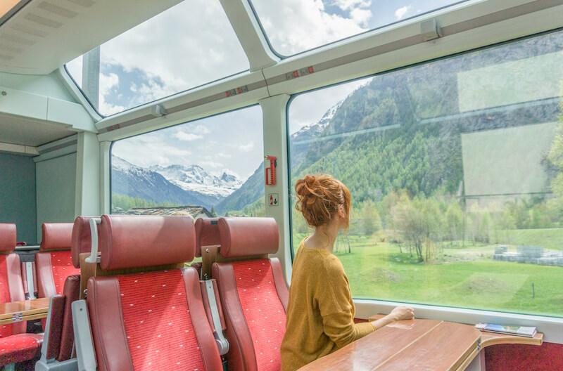 Glacier Express Chur Zermatt Schweiz