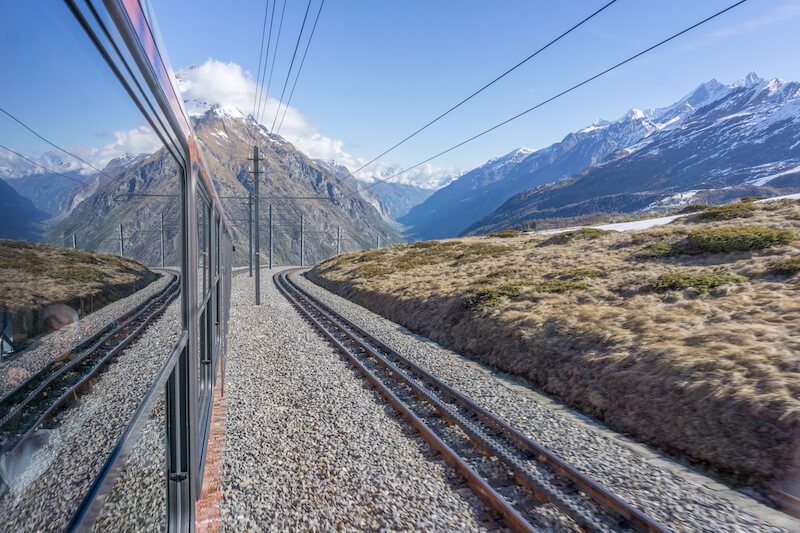 Glacier Express Matterhorn Zermatt Gornergrat