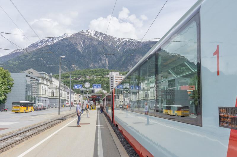 Glacier Express Schweiz Alpen