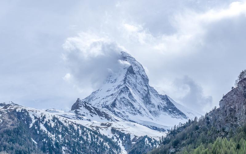 Glacier Express Zermatt Matterhorn