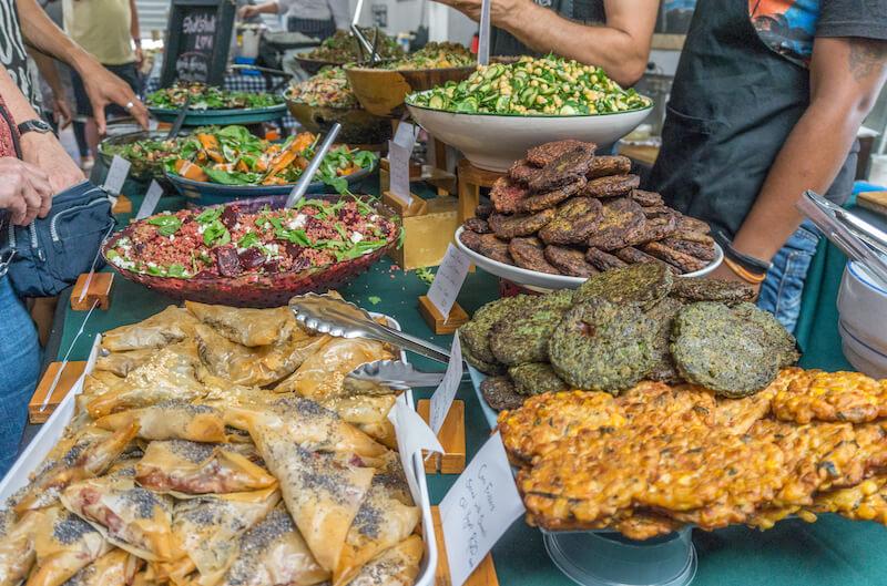 Kapstadt Urlaub Essen in Suedafrika