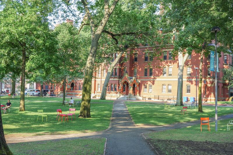 Neuengland Boston Harvard University Cambridge