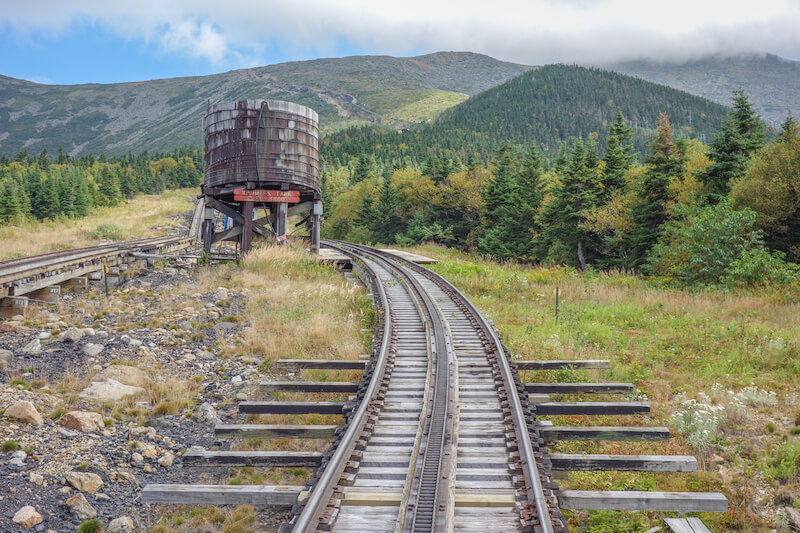Neuengland Mount Washington Cog Railway
