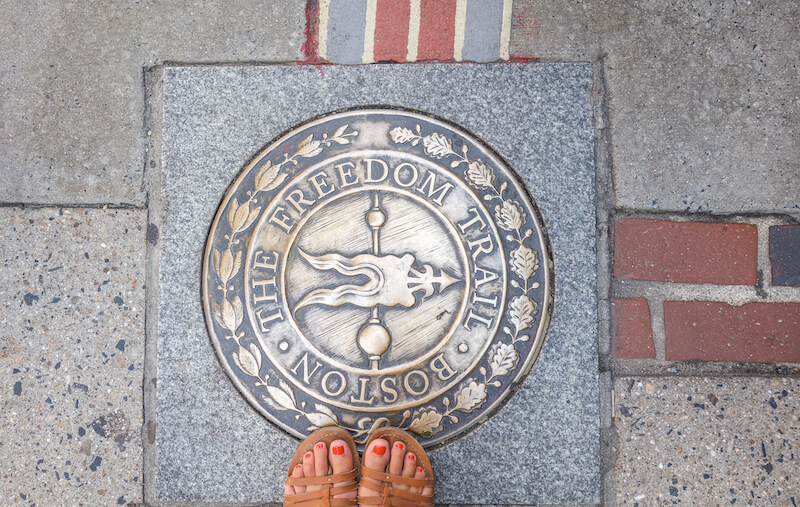 Neuengland Rundreise Boston Freedom Trail