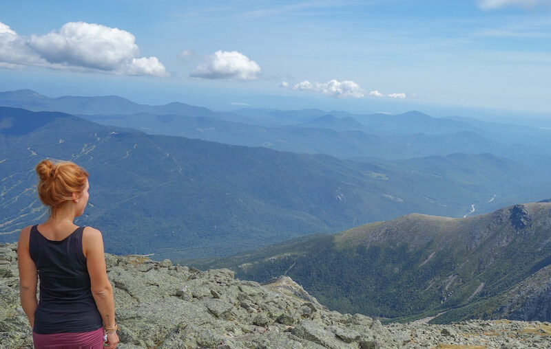 Neuengland White Mountains Mount Washington