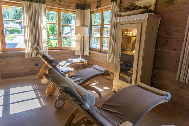 Bad Moos Dolomites Spa Resort Wellness Sauna