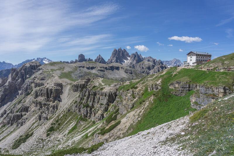 Drei Zinnen Wanderung Auronzo Huette Dolomiten