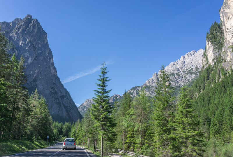 Drei Zinnen Wanderung Hochpustertal Sextner Dolomiten