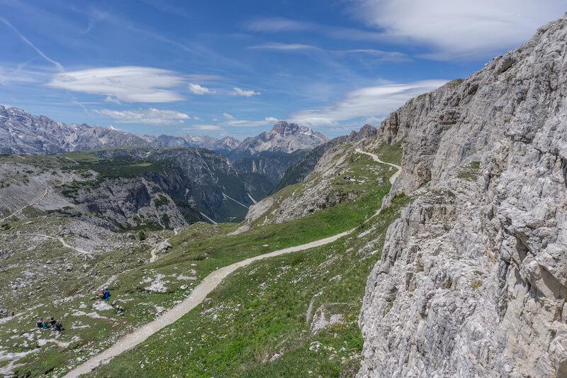 Drei Zinnen Wanderung Huette Sextner Dolomiten