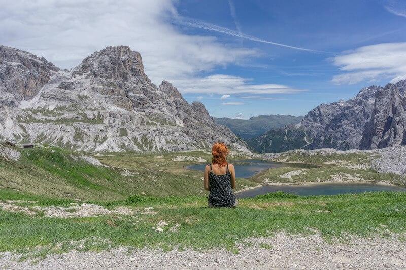 Drei Zinnen Wanderung Umrundung Drei Zinnen Huette Dolomiten