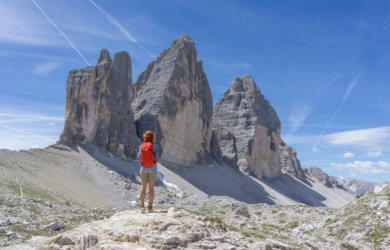 Drei Zinnen Wanderung Umrundung Sextner Dolomiten