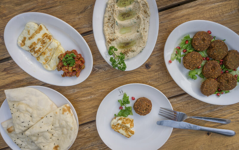 Dubai Falafel Humus Essen Arabische Kultur