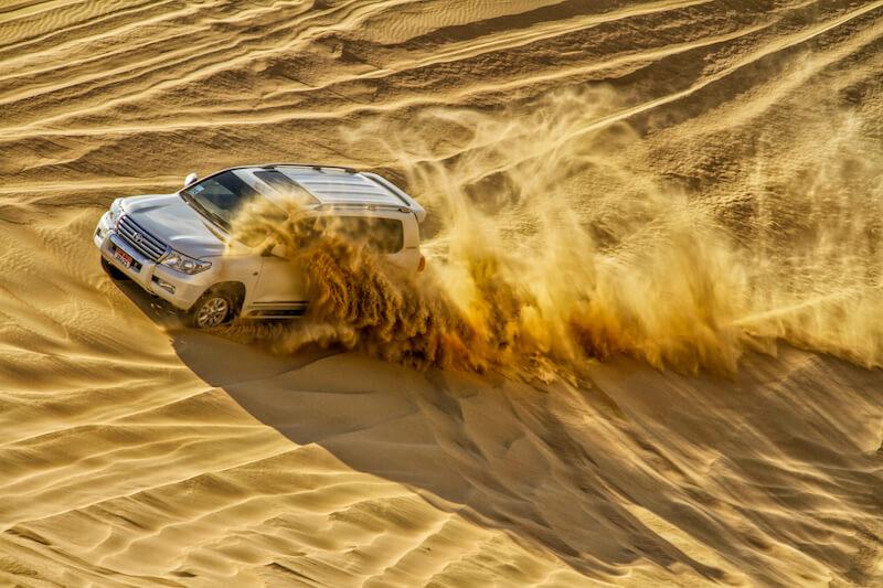 Dubai Jeepsafari Wueste