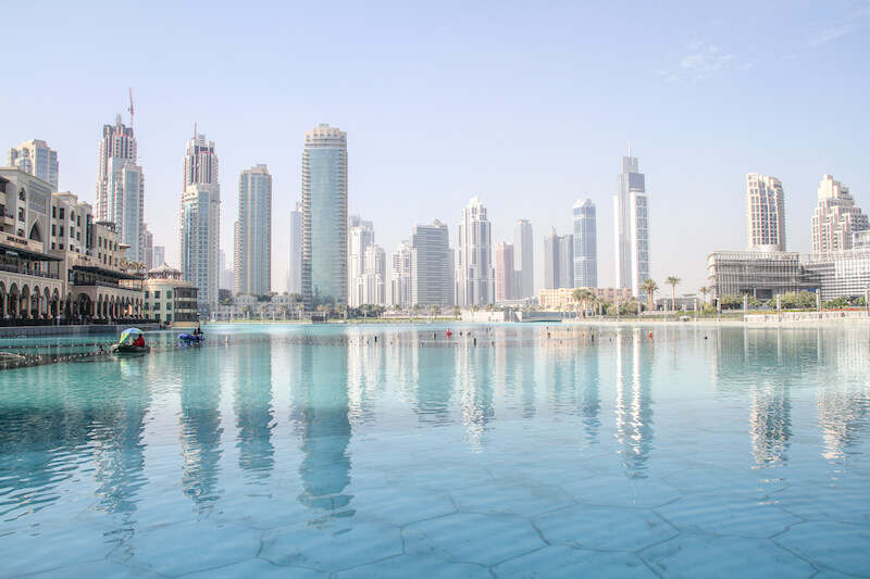 Dubai Lake Fontains