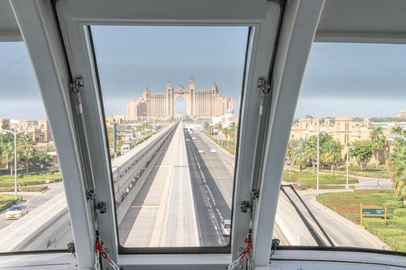 Dubai Monorail Schwebebahn Atlantis