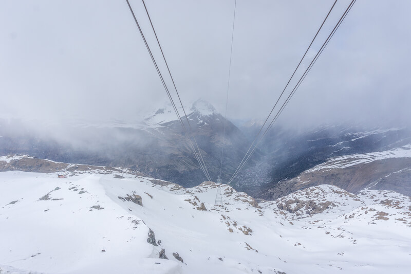 Glacier Express Klein Matterhorn Glacier Paradise