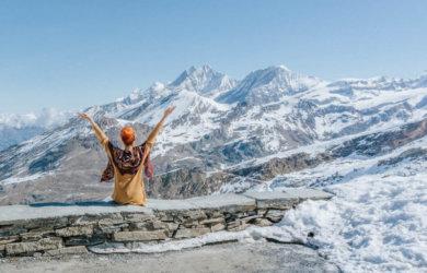 Glacier Express Schweiz Alpen Matterhorn