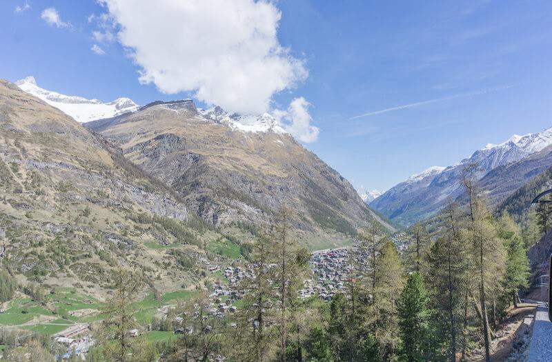 Glacier Express Schweiz Gornergrat