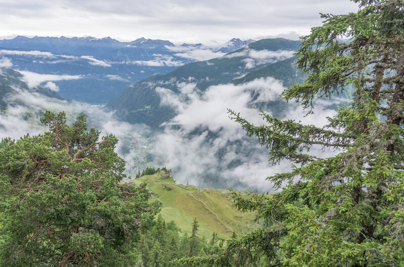 Alpe San Romerio Schweiz