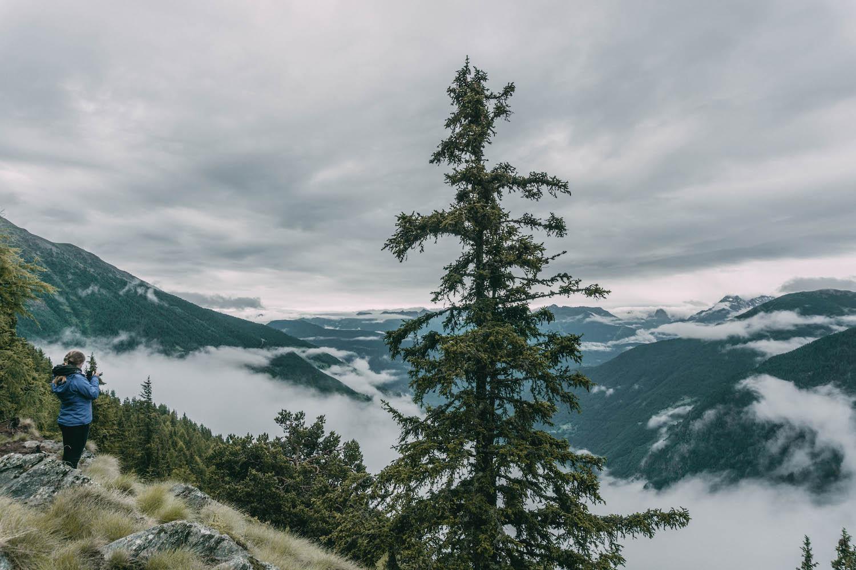 Graubuenden Alpe San Romerio Schweiz