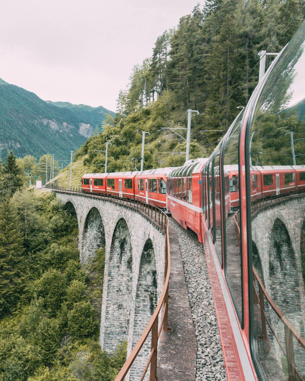 Graubuenden Bernina Express Schweiz